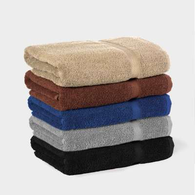 Martex Colors Black Towel